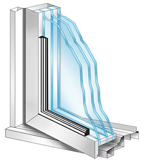 Triple glazing windows pictures for Best triple glazing